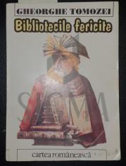 GHEORGHE TOMOZEI - BIBLIOTECILE FERICITE - POEZII ( DEDICATIE SI AUTOGRAF) , 1995 foto
