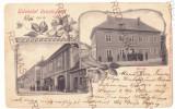 2618 - ORAVITA, Caras-Severin, Litho, Romania - old postcard - used - 1902, Circulata, Printata