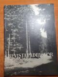 revista padurilor decembrie 1962-densitatea drumurilor forestiere