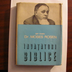 "CY - Sef Rabin MOSES ROSEN ""Invataturi Biblice"""