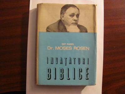 "CY - Sef Rabin MOSES ROSEN ""Invataturi Biblice"" foto"