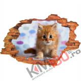 "Sticker ""Wall Crack"" Cat 8 - 120 x 80 cm"