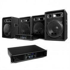 "Electronic-Star DJ Set complet ""Nizza Nights Pro"" 2x Amplificator și 4x boxe"