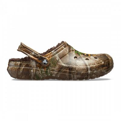 Saboți Adulti Unisex casual Crocs Classic Lined Realtree Edge Clog foto