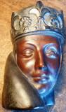 Masca -obiect decorativ de portelan / ceramica