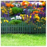 Bordura pt. pat de flori / gard - 60 x 23 cm - Verde ManiaMall Cars