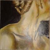 Pictez pereți, tablouri, icoane, afişuri şi fac portrete.
