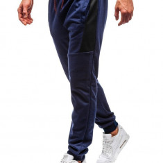 Pantaloni de trening bărbați bleumarin Bolf 35006