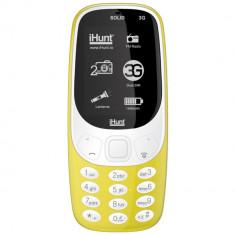 Solid 3G Dual Sim Galben