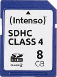 Card de memorie Intenso 8GB SDHC Clasa 4
