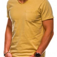Tricou barbati S1037 - galben