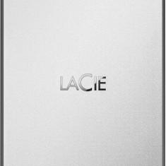 Hard disk extern Lacie Drive Moon 4TB USB 3.0 Silver