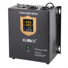 Cumpara ieftin UPS pentru centrale termice PRO Sinus KEMOT, 700 W, negru