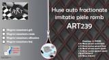 Huse auto fractionate ART239 imitatie piele romb
