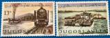 YUGOSLAVIA-Tren si navigatie-set -2val.-MNH