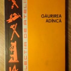 GAURIREA ADANCA - L. SAUER, CH. IONESCU