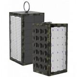 Acumulator extern Goui Box 10600mA Waterproof USB cu Panou fotovoltaic si LED-uri Negru
