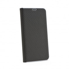 Husa Forcell Luna Carbon Samsung Galaxy S10 Black