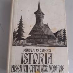 Istoria bisericii ortodoxe romane - Mircea Pacurariu - cu dedicatia autorului
