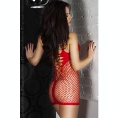 Rochie mini Chilirose 3423 S/M Red Minidress