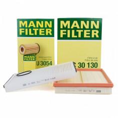 Pachet Filtre Aer+Polen+Ulei Mann Filter Opel Astra G H 1.2 16V 1.4 1.6 1.8