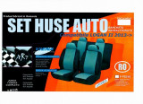Husa auto compatibile Logan II din 9 piese FRACTIONATE. Calitate Premium ManiaCars