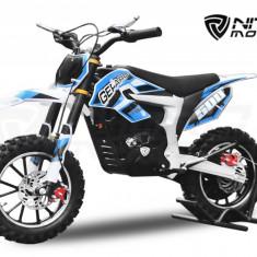Mini Motocicleta Eco Ghepard 500W 24 V Albastra