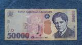 50000 lei 2000 bancnota Romania vioara