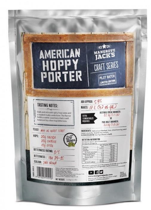 Mangrove Jack's Craft Series American Hoppy Porter - kit bere de casa 18 litri