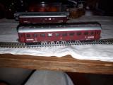 2 vagoane epocă Lima HO