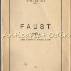 Faust. Libret - Jules Barbier, Michel Carre