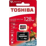 Card de memorie TOSHIBA 128GB microSDXC M303 UHS I U3, Mai mare de 64 GB