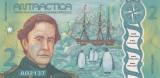 Bancnota Antarctica 2 Dolari 2020 - PNL UNC ( polimer )