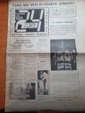 Ziarul 24 ore din 16 ianuarie 1990-anul 1,nr. 1. prima paritie a ziarului