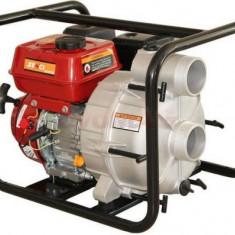Motopompa Senci SCWT-80 pentru apa murdara, debit apa 65 mc/h, diametru refulare 80 mm, Motor Senci 7.5 cp, Benzina