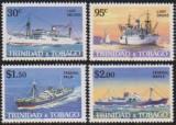 TRINIDAD TOBAGO - 1985 - VAPOARE, Transporturi, Nestampilat