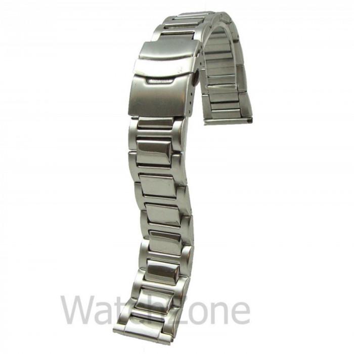 Bratara Ceas Metalica cu Zale Pline 14mm 16mm 18mm 20mm 22mm WZ860