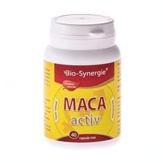 Maca Activ 400mg Bio Synergie 40cps Cod: bios00015