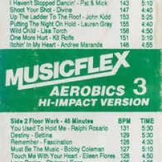 Caseta Musicflex Aerobics 3 Hi-Impact Version, originala