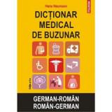 Dictionar medical de buzunar german-roman, roman-german ed.2, Hans Neumann