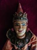 Set Papusi Sculptate in Lemn Articulate Bali de la Exotique