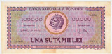 Bancnota 100.000 lei ( 100000 ) 25 ianuarie 1947 portret Decebal+Traian (4)