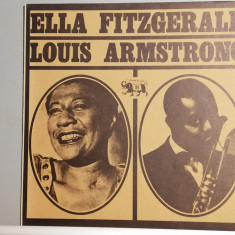 Ella Fitzgerald & Louis Armstrong (1973/Jazz Line/Italy)  - Vinil/Impecabil (M)