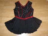 Costum carnaval serbare rochie dans balet gimnastica pentru adulti marime XL, Din imagine