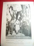 Fotografie ww2 tiparita - Inscaunarea unui Arhiepiscop German ,dim18x24cm-Propag