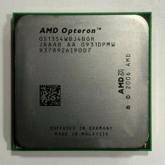 Procesor AMD Opteron x 4 1354 Quad Core 2.2 GHz socket AM2 / AM2+  si Pasta, Amd Phenom II