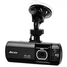 DVR auto PNI Amkov PH007, Full HD 1080p, Ecran 2.7inch, G-Sensor, WDR (Negru)