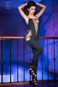 Catsuit SM Black Bodystocking