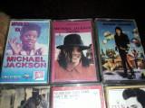 6 Casete audio colectie,2 Casete ELVIS PRESLEI-4 casete MICHAEL JACKSON,T.GRATUI