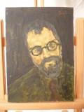 Tablou vechi-Portret-Corneliu Baba, Portrete, Ulei, Impresionism